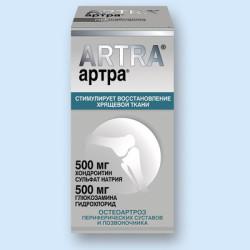 Артра - один из современных хондропротекторов