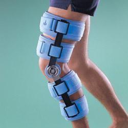 шарнирный стабилизирующий ортез на колено