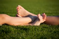 здоровые пальцы ног - здоровый организм!