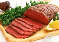 красное мясо - самый вредный продукт в диете при подагре