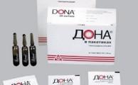 внешний вид препарата Дона