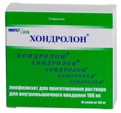 Лекарство Хондролон: инструкция по применению, цена, аналоги
