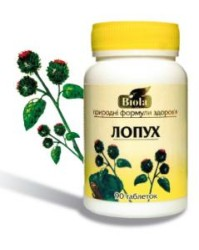 таблетки БАДа на основе корня растения
