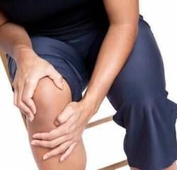 так может выглядеть синовит колена
