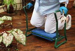 рис. 10: удобная подставка для коленей для работы, например, в саду
