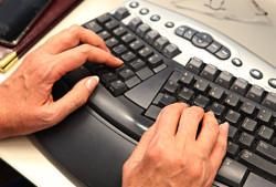 рис. 8: удобная клавиатура без нагрузки на суставы