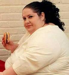 одна из причин шейного остеохондроза - избыточный вес