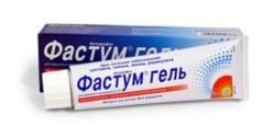 Отзывы пациентов о средстве Фастум гель