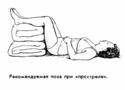 больному назначается постельный режим и полное отсутствие физических нагрузок