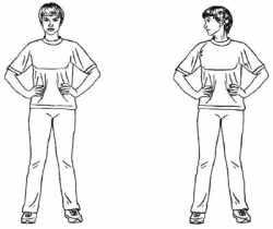 Комплекс лфк при остеохондрозе