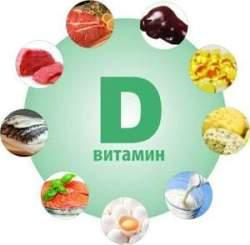 Продукты, содержащие витамин D
