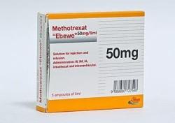 Ампулы с Метотрексатом
