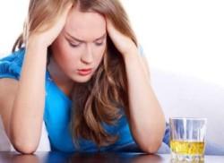 Тошнота от побочных эффектов таблеток