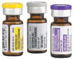 Лекарство во флаконах