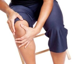 Ушиб колена у мужчины