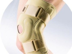 Для жесткой фиксации ноги