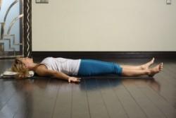 Положение для гимнастики лежа