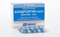 Хондроитин акос: инструкция по применению, цена, отзывы, аналоги