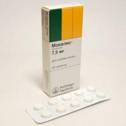 Таблетки мовалиса помогают от боли в спине