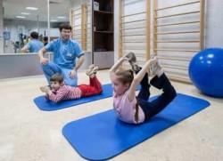 лечебная физкультура с детьми
