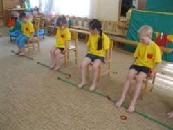дети на лечебной гимнастике