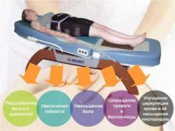 чем полезная массажная кровать