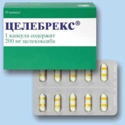 таблетки целебрекс