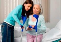 перелом у пожилой женщины