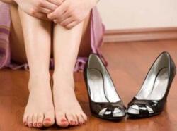ноги устали от неудобной обуви