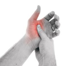 ограничение подвижности большого пальца