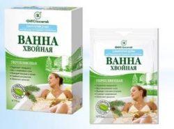 средство для принятия хвойных ванн