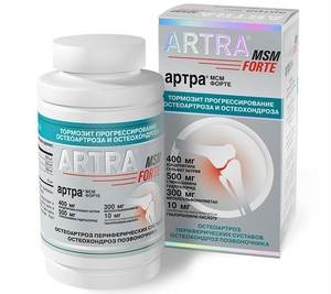 Таблетки «Артра»