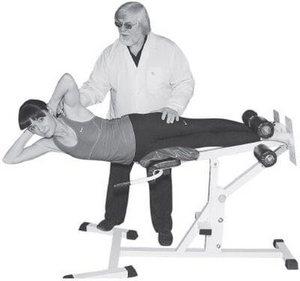 тренировка под руководством врача