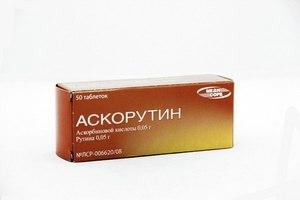витамин Р и аскорбиновая кислота