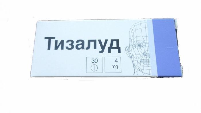 препарат из группы миорелаксантов центрального действия,